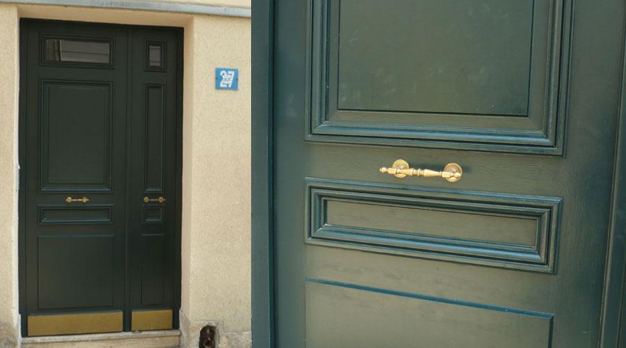 Sur rue simple ou double-vantaux